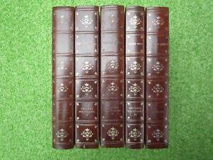 Victor HUGO - Oeuvres - Lot de 5 volumes -  Cercle du Bibliophile