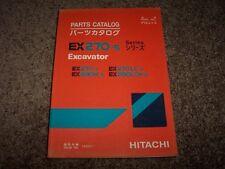 Hitachi Excavator EX270 LC 280 H LCH Factory Parts Catalog Manual 10001-