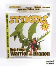 STiKFAS Beta Female Warrior & Dragon AFK77D