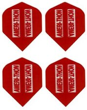Amerithon Set PLUS Dart Flights - 1 Set Plus a Spare! RED Standard