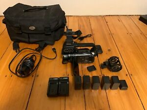 Canon XA10 High Definition AVC Camcorder with 6 Batteries and Carrying Case
