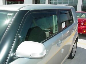 Scion xB 2008 - 2012 Wind deflectors In-Channel