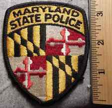 MARYLAND STATE POLICE PATCH (HIGHWAY PATROL, SHERIFF, EMS)