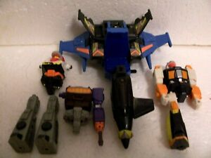 G1 Action Masters: vintage parts broken junk lot of figures & vehicle