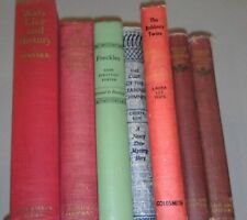 Lot of 7 Old VTG Antique Books Nancy Drew On Special Missions Shakespeare 1900s