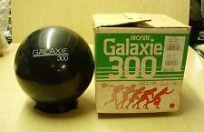 16# NOS 1990 (?)' Ebonite Galaxie 300 Black ONYX Bowling Ball