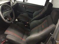 VW GOLF MK1 CABRIO SPORTLINE GTI COMPLETE INTERIOR RECARO SEATS DOORCARDS