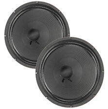 """Pair Eminence The Wizard 12"""" Guitar Speaker Red Coat 8ohm 75W 103dB Replacement"""