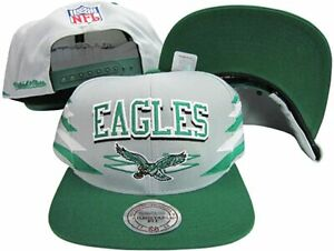Mitchell & Ness Philadelphia Eagles Diamond Snapback Hat