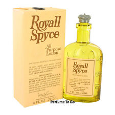 ROYALL SPYCE * All Purpose Lotion * HUGE 8.0 oz. (240 ml) Splash * NEW in BOX