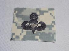 Genuine ACU US Army Master Parachutist Sew-on Cloth Uniform Badge