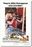 HIGH ROLLING IN A HOT CORVETTE - 1978 - original 27x41 movie poster - JUDY DAVIS