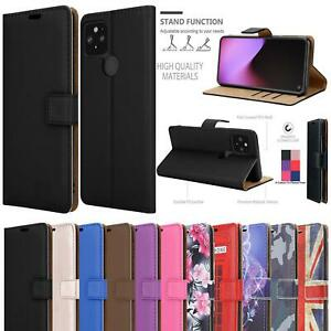 For Google Pixel 6 Pro 5 4A 5G 4G Case, Leather Wallet Flip Stand Phone Cover