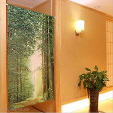 NEW Japanese Noren Door Curtain Doorway Tapestry Home Room Divider Panel Green