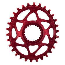 Absolute BLACK Oval Shimano XTR M9100 Compatible 32T Chainring Red