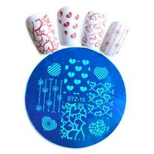 Nail Art Stamping Plates Image Plate Decoration VALENTINES Day Hearts Love STZ15