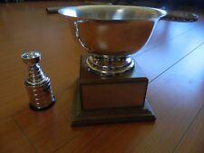"1986 W.F.T.C.C.dog trophy -TOP WIRE FOX TERRIER-in Canada Trophy CUP 7""x7""x 6""Sq"