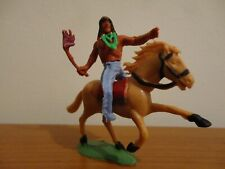 TIMPO SIMILAR CHARBENS (ENGLAND) WILD WEST SWOPPET MOUNTED INDIAN #1
