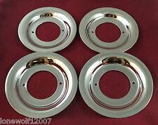 TSW Wheel Chrome Custom Wheel Plate Center Cap # NC69 7D30 SET OF 4