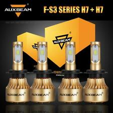 4PCS AUXBEAM H7 Bulbs For Hyundai Azera Santa Fe XL LED Headlight High Low Beam