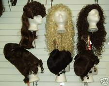 Black Showgirl, Long Glamour, Medieval, Pirate Wig!