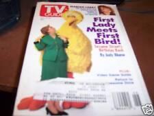 TV Guide 11/13-19 1993 Hillary Clinton & Big Bird
