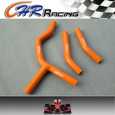 FOR KTM 125 200SX 200SX 03-06 2004 2005 2006 Silicone Radiator Hose orange