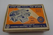 Vintage MANSFIELD Little Gem 8 & 16mm Film Splicer R12540