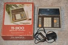 Calculatrice Ti 5100 - En boîte avec l'adaptateur secteur / Texas Instrument
