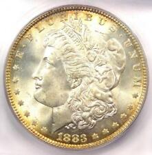 1883 Morgan Silver Dollar $1 (1883-P) - Certified ICG MS67 - $2,440 Guide Value!