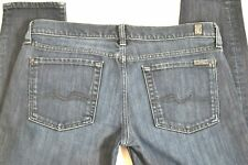 Womens 7 Seven for All Mankind Gwenevere Skinny Jeans Size 31 (12) EUC