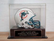 Football Mini Helmet Case With A Jay Ajayi Philadelphia Eagles Nameplate