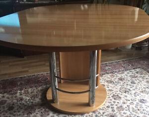 Rundtisch Ausziehbar Oval