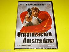 ORGANIZACION AMSTERDAM / Amsterdam Kill - Robert Mitchum - Precintada