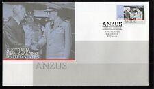 2011 Australia ANZUS 60c Stamp Issue, FDC, Very Good Condition