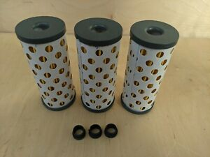 Oil filter (high quality) for URAL Gear Up Patrol (2010 to 2013) Lot of 3 psc.