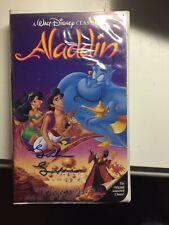 Linda Larkin Signed Aladdin VHS
