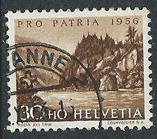 1956 SVIZZERA USATO PRO PATRIA 30 CENT - G038