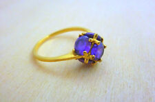 Amethyst Gold Ring -14K Gold filled delicate ring, gold amethyst ring, thin ring