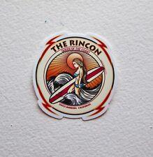 """THE RINCON SURFER SURF SURFING VINYL STICKERS DIE CUT 3""""x3"""" Epic Surf Breaks"""