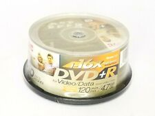 (KK-7428) JVC DVD-R 16x High Speed Recordable DVD Discs 120 Min 4.7 Gig 30 Pack