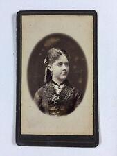 Victorian Carte De Visite CDV Photo: Lady: Meeus Verbeke: Louvain