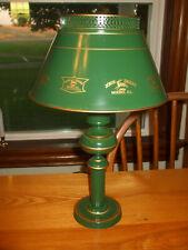 """John Deere LOGOS 17""""  Metal Light/Lamp w/Glass Diffuser & Metal/Enamel Shade"""