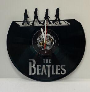 The Beatles Vinyl Record Wall Clock Decor