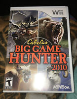 Cabela's Big Game Hunter 2010 Nintendo Wii Video Game Complete