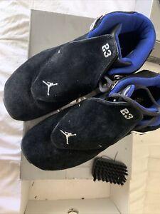 Size 10 - Jordan 18 OG Black Blue