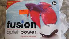 JW Fusion Quiet Power Aquarium Air Pump Used one time.