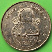 JETON MDP PIECES JAUNES 2006