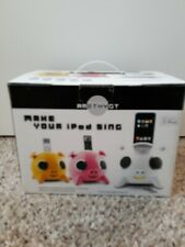 iPIG Speaker by Amethyst /White/ iPod DOCK Charger/iPhone/Android NEW IN BOX!!