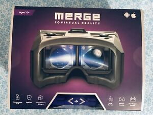 MERGE VIRTUAL REALITY VR/AR GOOGLES ANDROID/APPLE IOS DEVICE GENUINE BRAND NEW